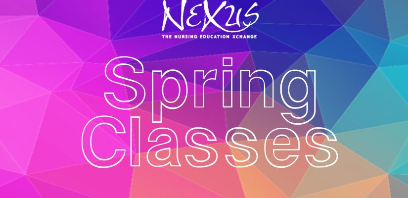 Checkout Spring Courses!